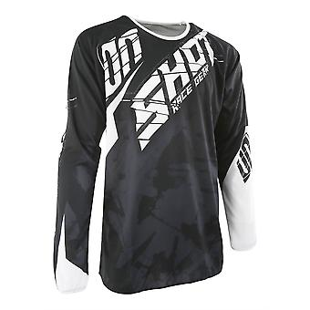 Shot Devo Squad Black Adults MX Jersey