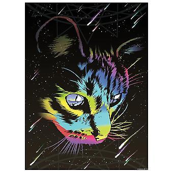 Unorthodox Collective Rainbow Cat Mini Poster