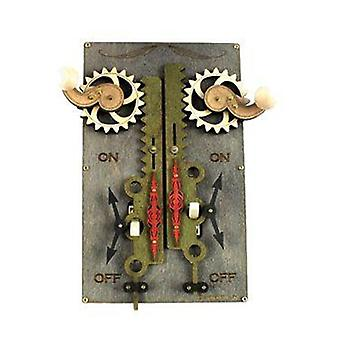 Double Rack & Pinion Switch Plate 8005a Gris