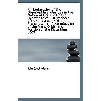 Selitys Uranuksen esityksessä havaituista sääntöjenvastaisuuksista: Disturban olettamuksesta