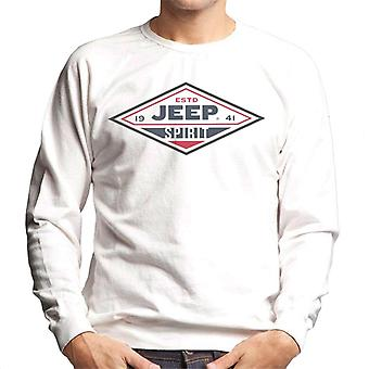 Jeep Estd 1941 Spirit Logo Men's Sweatshirt