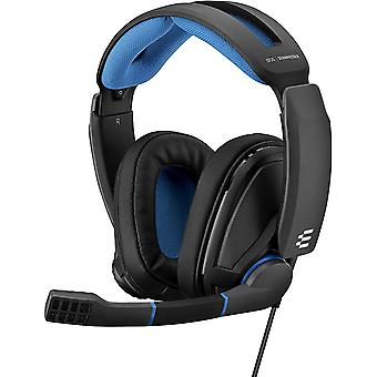 GSP 300 Closed Acoustic Gaming Headset - Black/Blue