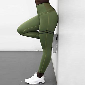 Vrouwen print leggings, oefening fitness broek