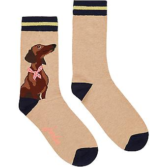 Joules Womens Brill Bamboo Breathable 1 Pack Socks