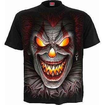 Säikähtänyt Yö T-paita Musta