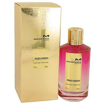 Mancera Roses Greedy Eau De Parfum Spray (Unisex) Por Mancera 4 oz Eau De Parfum Spray