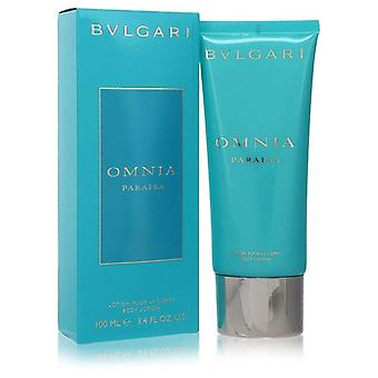 Omnia Paraiba Body Lotion By Bvlgari 3.4 oz Body Lotion