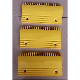 Escalator Yellow Plastic Comb Plate Qstj.s.a.3, Qstj.s.a.2 ,qstj.s.a.1,
