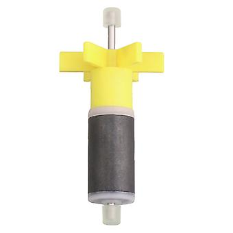 Yellow 16mm Impeller Rotor Spare Replacement Aquarium Filter Part