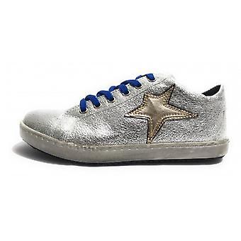 Обувь Женщина Тони Уайлд Кроссовки Кожа Rocher Серебро / Stella Gold D18tw24