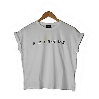 Friends Girls Logo Crop Top