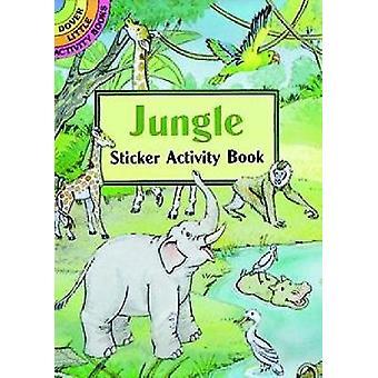 Jungle Sticker Activity Book par Cathy Beylon