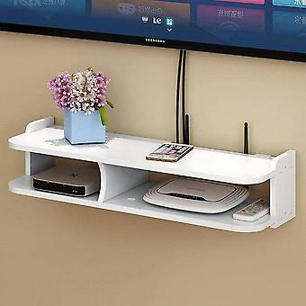 Wall Hanging Decorative Partition Bedroom Router Storage Rack Box