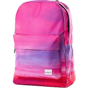 सर्पिल सूर्योदय बैग में गुलाबी