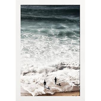 JUNIQE Print - Calling - Oceans, Seas & Lakes Poster in White