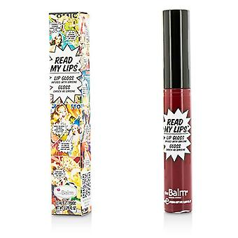 TheBalm Read My Lips (Lip Gloss Infused With Ginseng) - #Va Va Voom! 6.5ml/0.219oz