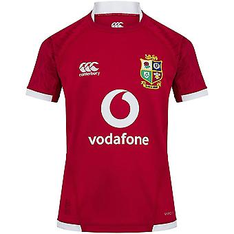 Canterbury British & Irish Lions 2021 Kids Pro Jersey Shirt Tee Röd
