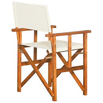 vidaXL Regiestühle 2 Stk. Massivholz Akazie