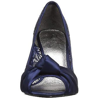 Adrianna Papell Womens Francesca Fabric Peep Toe Classic Pumps