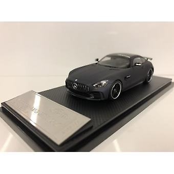 Almost Real 420712 Mercedes AMG GT R 2017 Leather Matt Blue 1:43 Scale