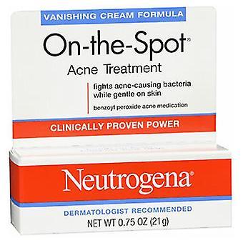 Neutrogena Neutrogena On-The-Spot Acne Treatment Vanishing Cream Formule, 0,75 oz
