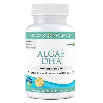 Nordic Naturals Algae DHA, 500 mg, 60 Count