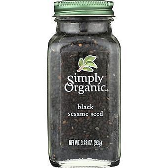 Simply Organic Seasoning Sds Blck Ssme, Case of 6 X 3.28 Oz