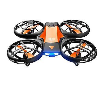 V8 Mini Drone 4k 1080p Hd Camera Wifi Air Pressure Altitude Hold Black