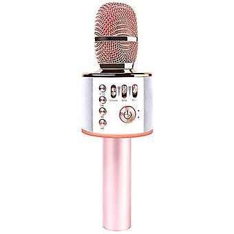 Micrófono inalámbrico Bluetooth Karaoke Portátil Portátil Karaoke Mic Speaker Machine