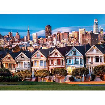 Clementoni  Painted Ladies High Quality Jigsaw Puzzle (1000 Pieces)