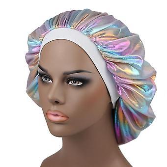 elastisk bredt bånd panser hårpleie cap