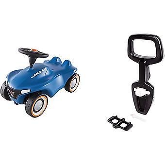 -Bobby-Car Neo Blau - Rutschfahrzeug für drinnen und draußen, Kinderfahrzeug mit Flüsterreifen &
