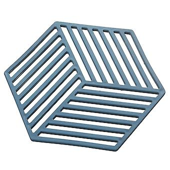 Casaiyn Silicone Insulation Pad Coaster Counter Mat For Kitchen Hexagonal Mat Insulation Pads Washable Trivet Pad