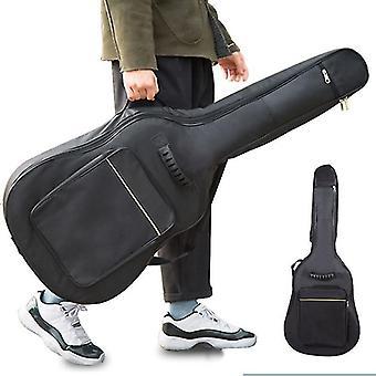Gitaar koffers gig tassen waterdichte gitaar geval dubbele riem gewatteerde rugzak / schoudertas