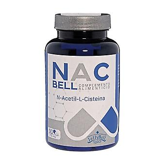 Nacbell n-acetyl l-cysteine 90 capsules of 770mg