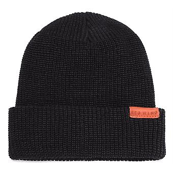 Red Wing Beanie Unisex Hat in Black