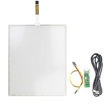 5 Wire 15 Inch Touch Screen+usb Controller Board Glass Panel