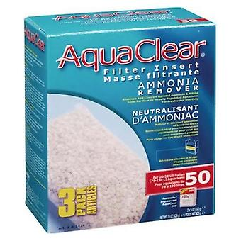 Aquaclear Amoniak Odstraňovač filtru Vložka - Velikost 50 - 3 počet