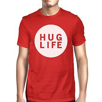 Klem liv menns rød t-skjorte søt grafisk kreative gave ideer For menn