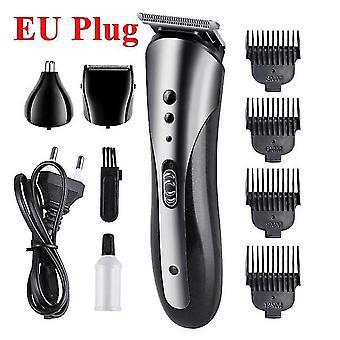 3 In1 miesten sähköinen hiustenleikkuri ladattava hiustenleikkuri kannettava parta parranajokone