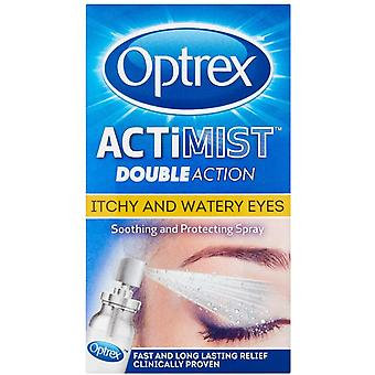 Optrex ActiMist 2 in 1 Eye Spray for Itchy and Watery Eyes, 10 ml