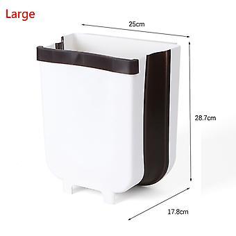 9l للطي الجدار محمولة على سلة المهملات، الباب محمولة على المطبخ القمامة يمكن، الحمام القمامة يمكن، مرحاض