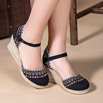 kvinners tykk-soled komfortabel utendørs pustende sommer sandaler