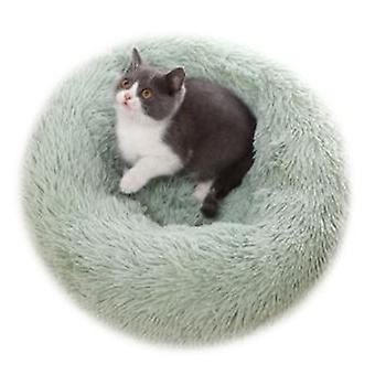Warming Round Pet Bed For Dogs And Cats, Indoor Sleeping Bed