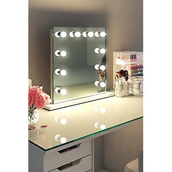 Голливуд макияж Туалетная комната зеркало с Светодиодные лампы k89CW