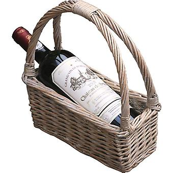 Provence Willow Wine Carrying Cradle