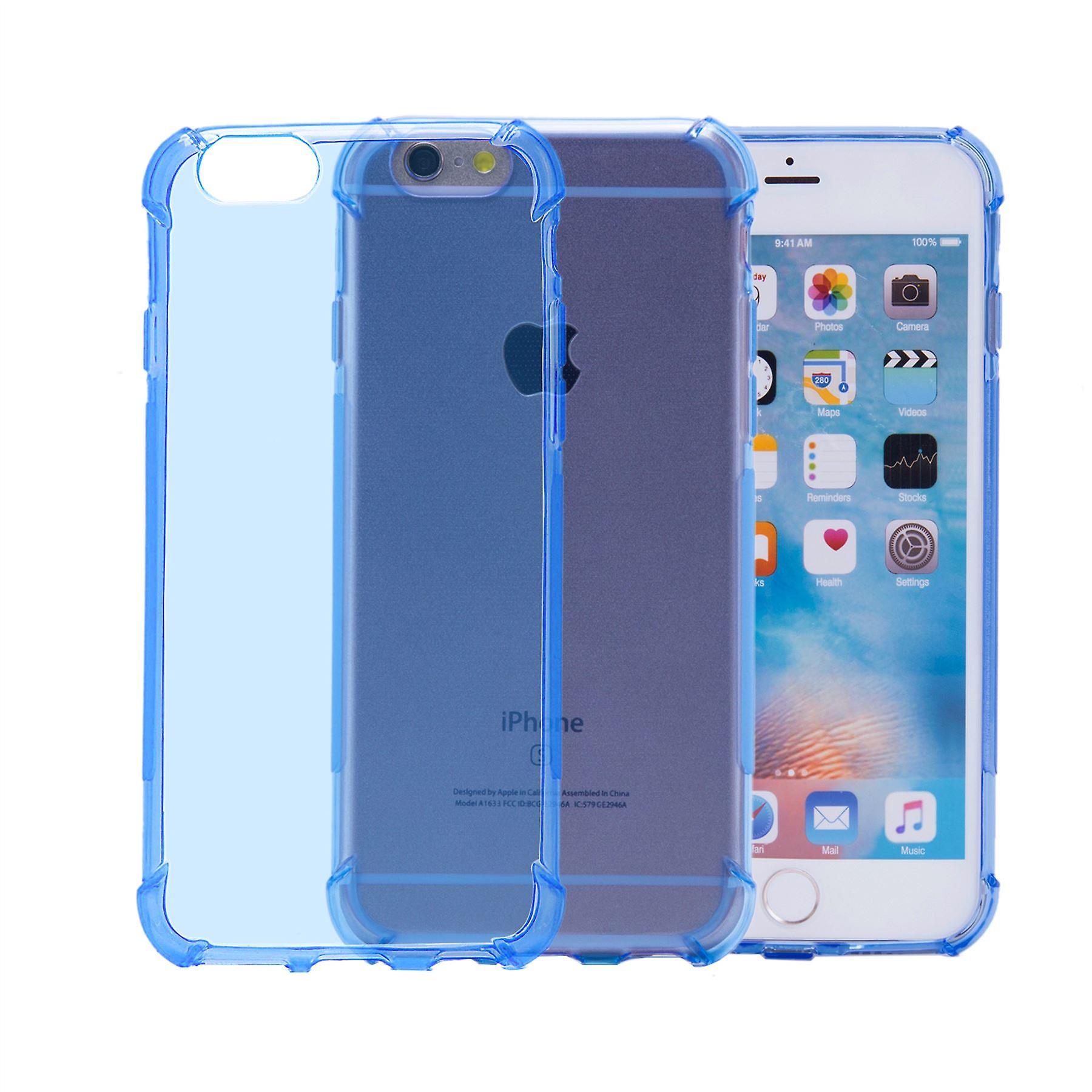 Tough Gel case for Apple iPhone 6 6S - Light Blue