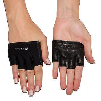 Sopii neljä Anti-Ripper Fitness painonnostovyö-hanskat - musta