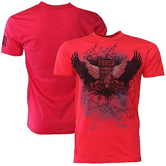 "Forza Sports ""Soar"" MMA T-Shirt - Red"