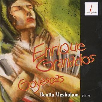 Benita Meshulam - Granados: Goyescas [CD] USA import